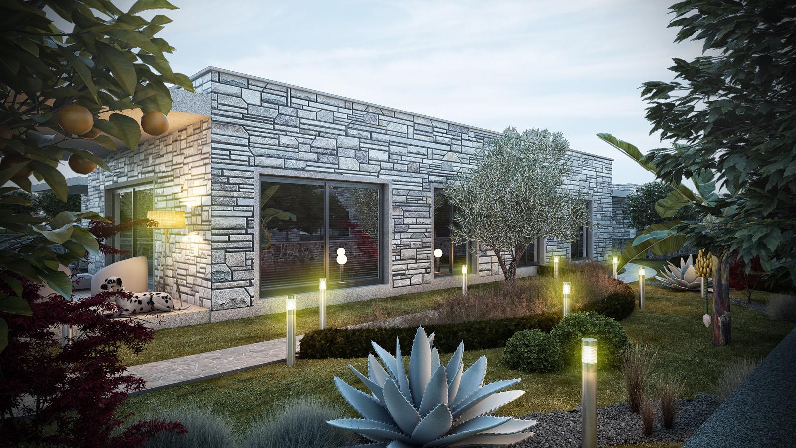 Bodrum Ortakent Satılık Müstakil Villa-Doğa İçerisinde-Özel Tasarım