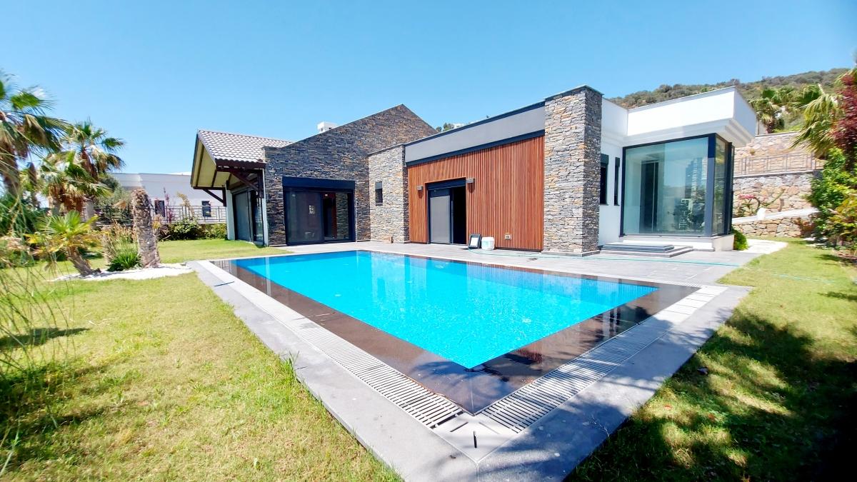 Bodrum Yalıkavak'ta Satılık Sıfır Müstakil Villa