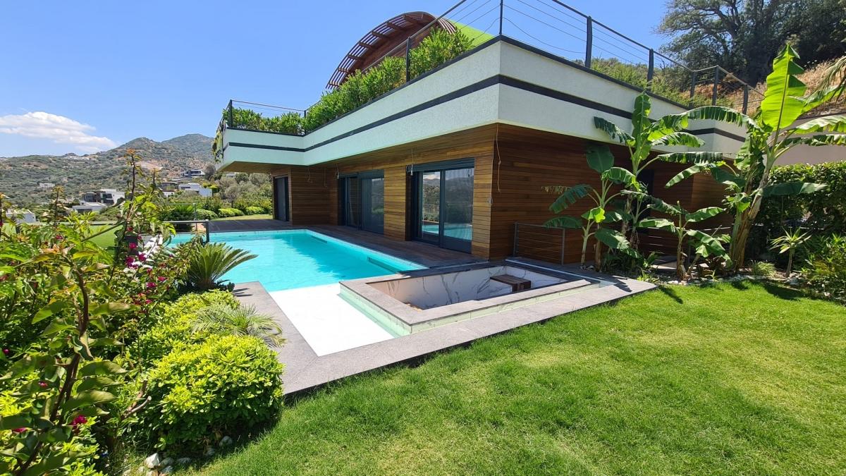 Bodrum Yalıkavak'ta Satılık Özel Konsept Lüks Villa